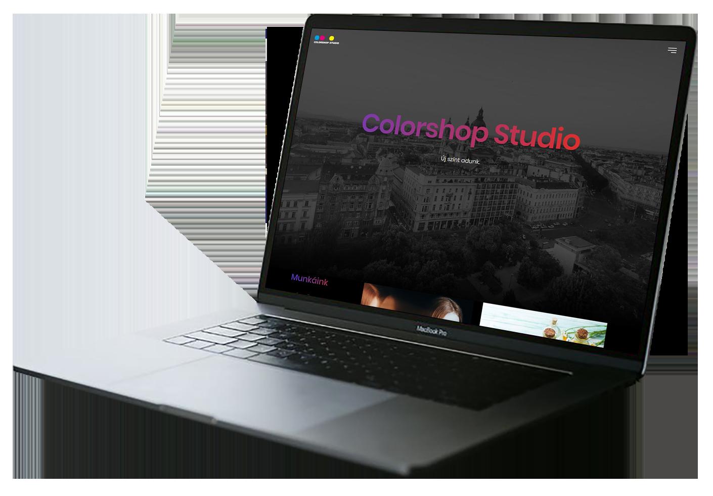 b05b2e78c5 Partnerünk számára egy egyszerű, látványos, reszponzív, referenciákat  bemutató corporate site fejlesztése volt a feladat, meglévő design alapján,  ...